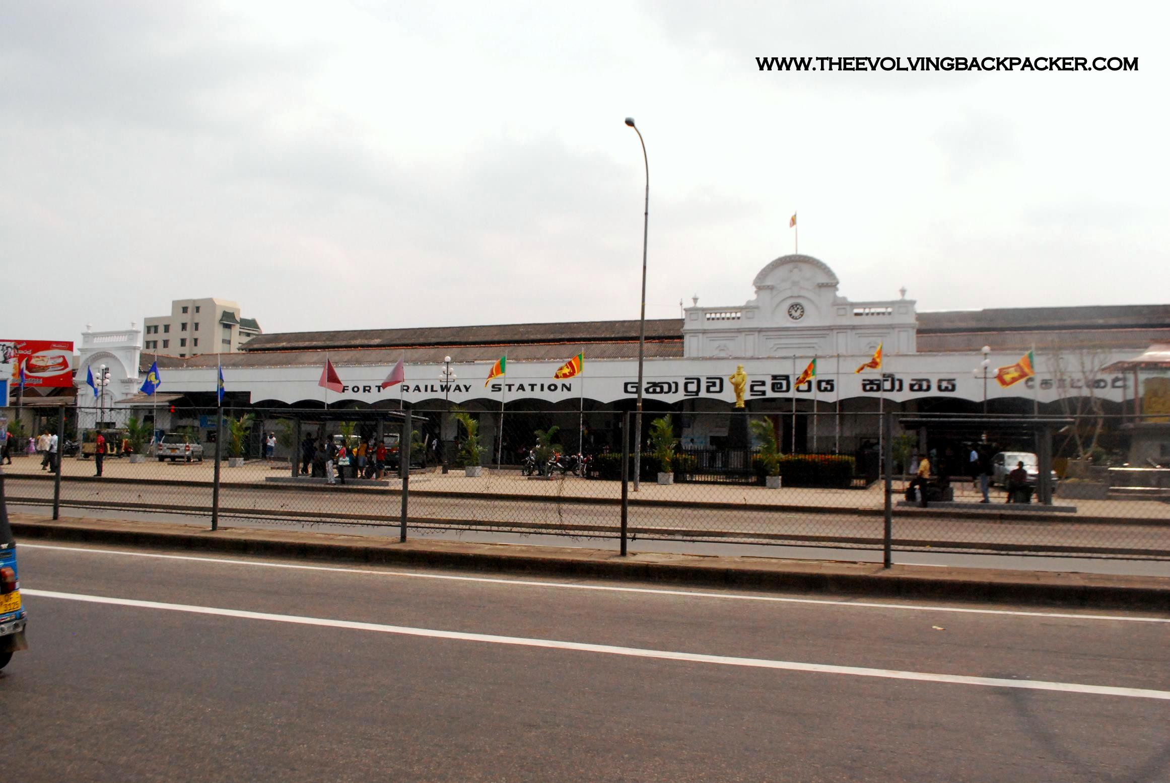 Colombo - Fort Railway station