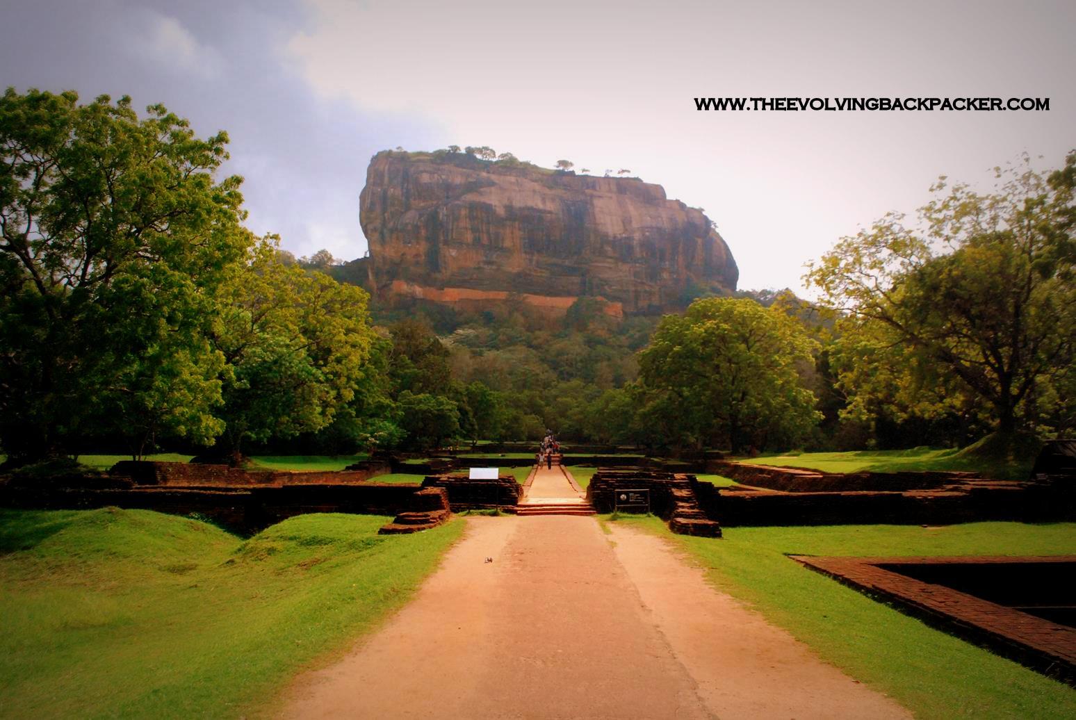 Kandy – Sigiriya and Dambulla – A Huge Boulder and some restive Buddhas