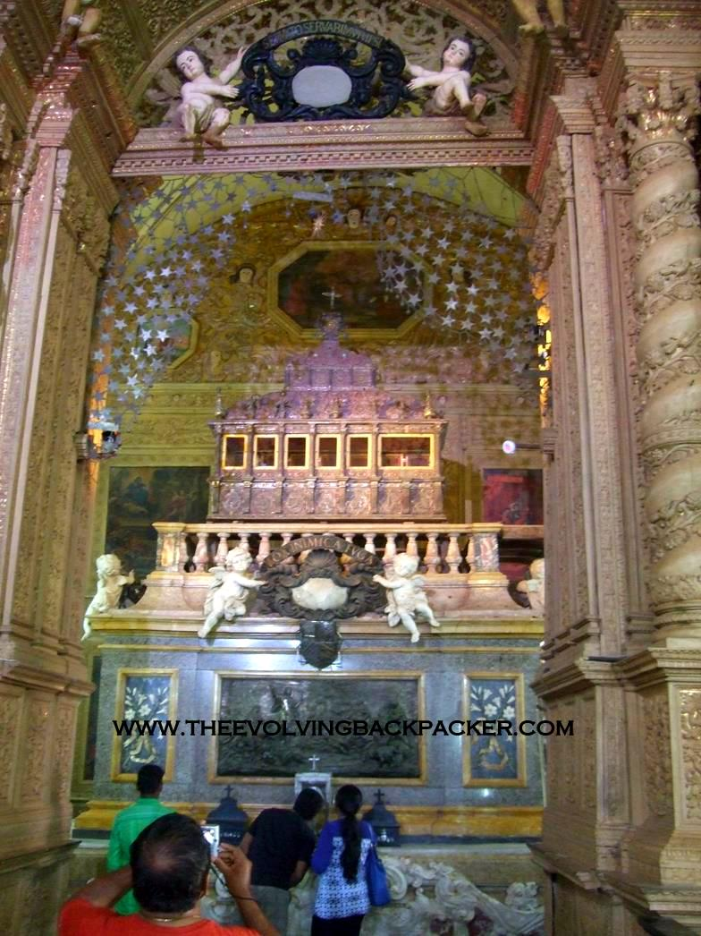 Chapel and tomb of St. Francis Xavier